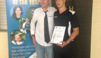 Jarrod Berry - Sportmanship Award