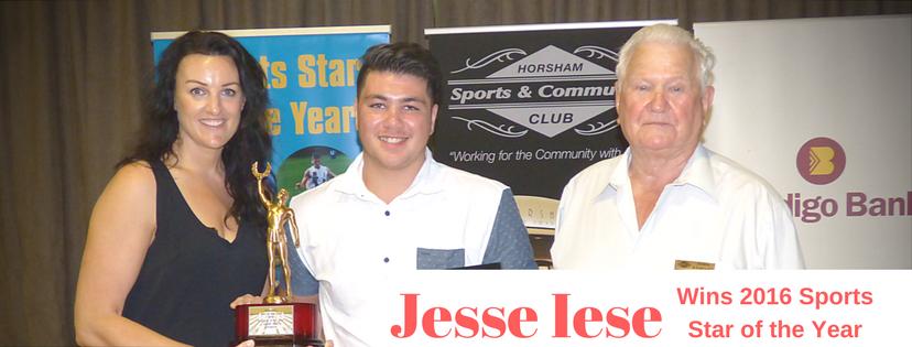 Jesse Iese wins